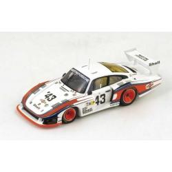 """Porsche 935/78 """"Moby Dick"""" No.43 8th Le Mans 1978 M. Schurti - R. Stommelen"""