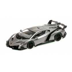 Lamborghini Veneno 2014 - Grey with Green Character line