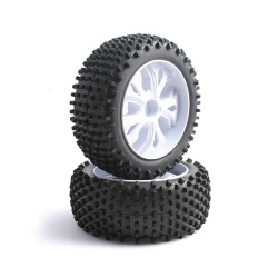 Buggy Tire Mounted Monster FTX Enrage Block 10-Spoke Front 12mm Hex
