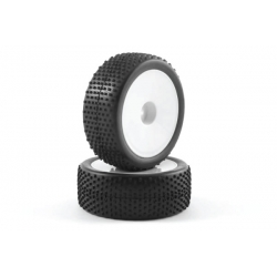 Buggy Tire Mounted LP Block Dish Front 12mm Hex