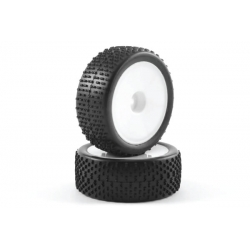 Buggy Tire Mounted LP H Pattern Dish Front 12mm Hex