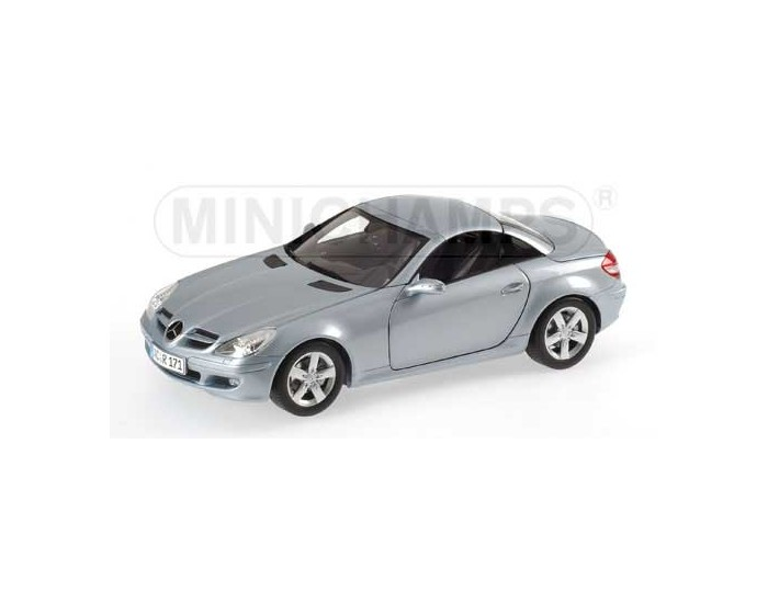 Mercedes-Benz SLK-Class - With Movable Roof - 2004 - Silverblue Metallic