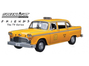 1977 Phoebe Buffay's Checker Taxi Cab From TV Series Friends