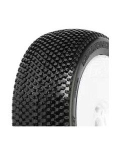 Tyre Mounted Diamond X4 LightWeight White Wheel (pair)