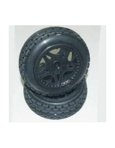 Tyre Mounted Sidewinder Wheels Front (pair)