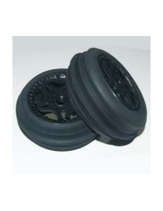 Tyre Mounted Sidewinder Sand Wheels Front (pair)