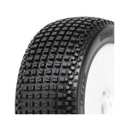 Tyre Mounted Big-Blox X4 LightWeight White Wheels (par)