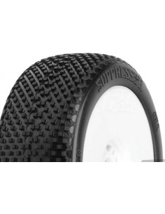 Tyre Mounted Suppressor X2 LightWeight White Wheels (pair)