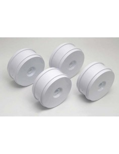 Wheels 83mm RC8 RS White (4 pcs)