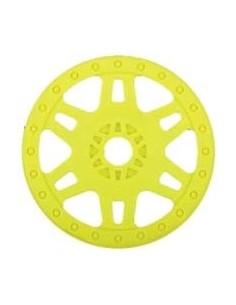 Wheels Split Six Sc W/Adaptor Yellow (pair)