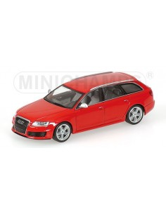 Minichamps - 400017210 - Audi RS 6 Avant - 2007 - Red Metallic  - Hobby Sector