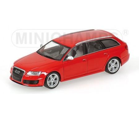 Minichamps - 400017210 - Audi RS 6 Avant - 2007 - Red Metallic  - Hobby Sector