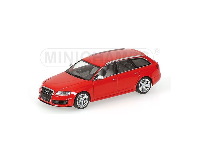 Audi RS 6 Avant - 2007 - Red Metallic