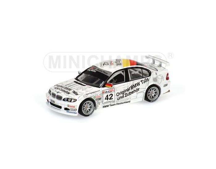 BMW 320I - Jörg Mueller - Team BMW Schnitzer - ETCC 2003