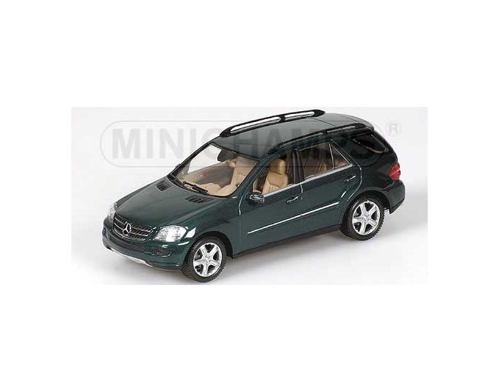 Mercedes-Benz M-Class (W164) - 2005 - Green Metallic