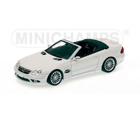 Mercedes-Benz SL-55 AMG (R270) - 2006 - White