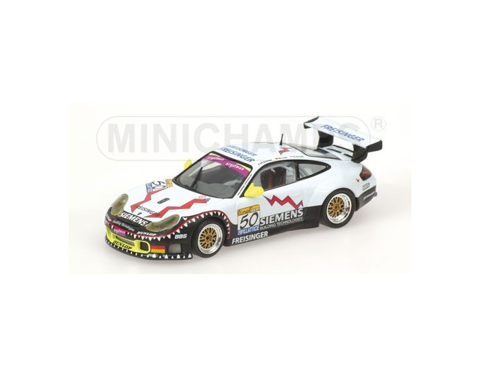 Porsche 911 GT3 RS - Ortelli/Lieb/Dumas - Winners - Freisinger Motorsport - 24H SPA 2003