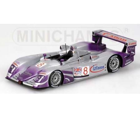 Audi R8 - Mcnish/Biela/Kaffer - Audi Sport Uk Team Veloqx - 24H Le Mans