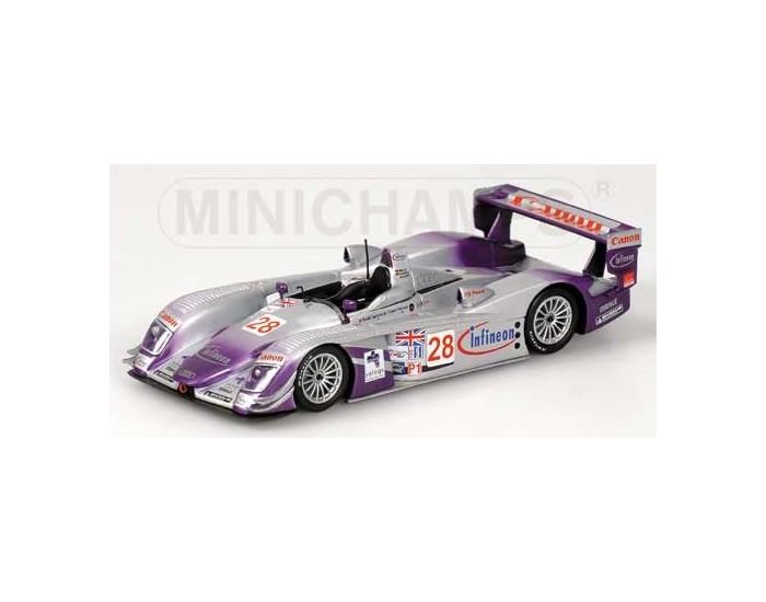 Audi R8 - Biela/Kaffer/Mcnish - Winner - Audi Sport Uk Team Veloqx - 12H Sebring 2004