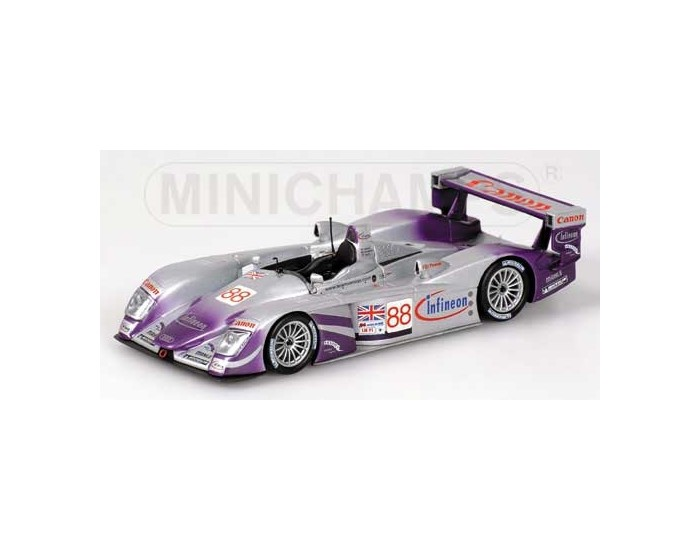 Audi R8 - Davies/Herbert/Smith - Audi Sport Uk Team Veloqx - 24H Le Mans 2004