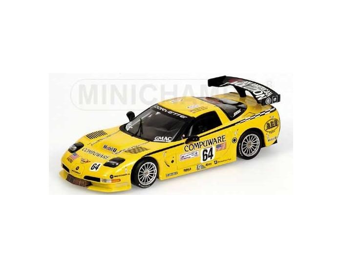Chevrolet Corvette C5R - Gavin/Beretta/Magnussen - 24H Le Mans 2004