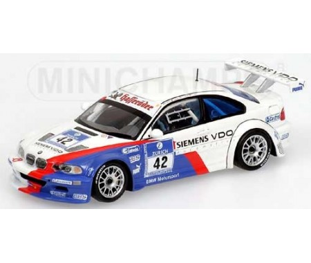 BMW M3 GTR - Müller/Müller/Stuck/Lamy - Winners - Team BMW Motorsport- 24H Nürburgring 2004