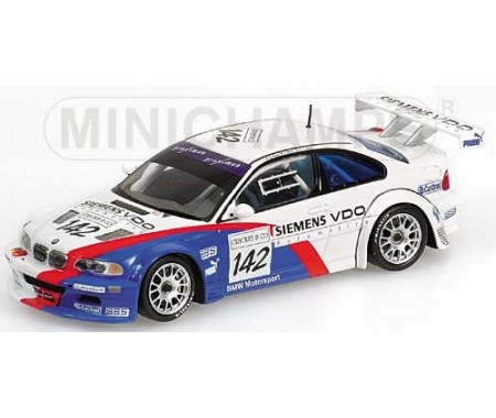 BMW M3 GTR - Müller/Müller/Stuck - Class Winners - Team BMW Motorsport - 24H SPA 2004