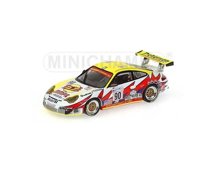 Porsche 911 GT3 RSR - Maassen/Bergmeister/Long - Petersen/White Lightning Racing - 24H Le Mans 2004