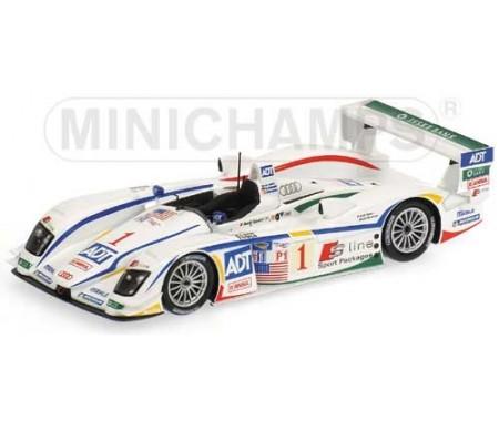 Audi R8 - Lehto/Werner/Kristensen - Winner - Team Champion - 12H Sebring 2005