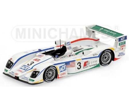 Audi R8 - Lehto/Werner/Kristensen - Winner - Team Champion - 24H Le Mans 2005