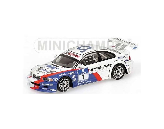 BMW M3 GTR - Müller/Müller/Stuck/Lamy - Team BMW Motorsport - 24H Nürburgring 2005