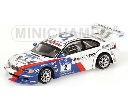 "BMW M3 GTR - Lamy/Said/Huisman/Priaulx - Winner - Team BMW Motorsport - 24H Nürburgring 2005 ""Adac"""