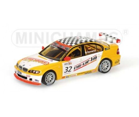 BMW 320I - Marc Hennerici - Winner - Team Wiechers Sport - Independence Trophy WTCC 2005