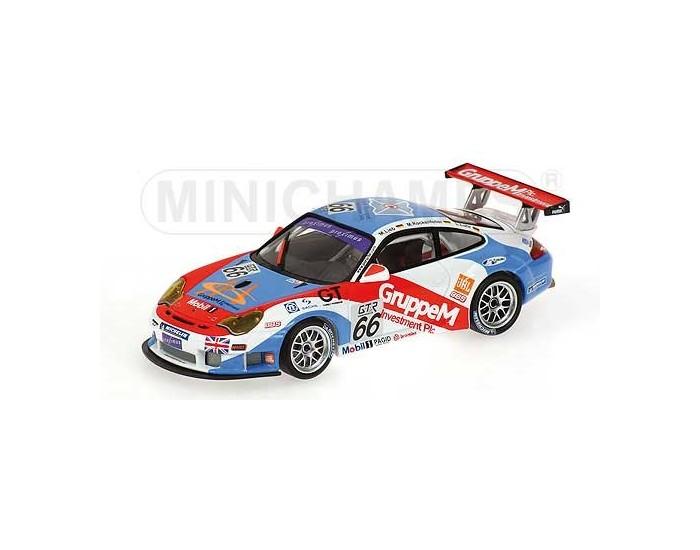 Porsche 911 GT3 RSR - Lieb/Rockenfeller/Luhr - Class Winners - Team Gruppe M Racing - 24H SPA 2005