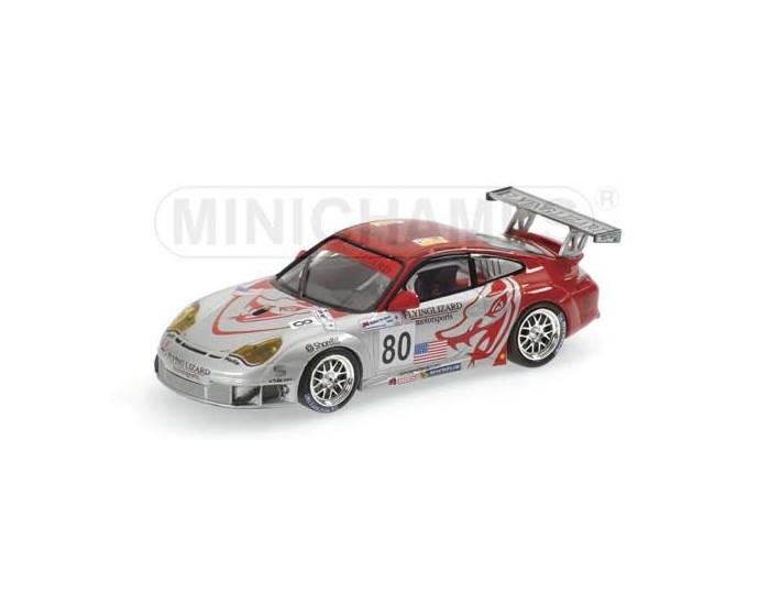 Porsche 911 GT3 RSR - Van Overbeek/Pechnik/Neiman - Flying Lizard Motorsports - 24H Le Mans 2005