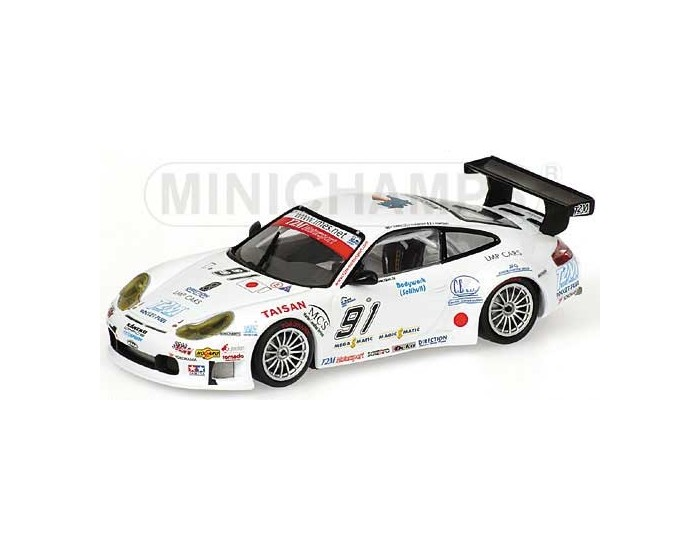 Porsche 911 GT3 RS-R - Yamagishi/Pompidou/Caffi - Team T2M Motorsport - 1000Km SPA 2005