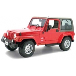 Jeep Wrangler Sahara Red