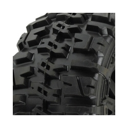 Truck Tyre Mounted Trencher 2.8 All Ter. on Black F11 Wheels 4WD (par)