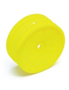 Team Associated Buggy Wheel Front Hex Yellow (par)