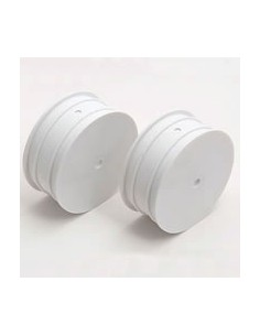 "Team Associated Buggy Wheel B44 Front Wheel 2.2"" White (pair)"