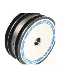 FTX Buggy Wheel Edge Front with White Print (par)