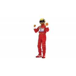 TSM Ayrton Senna Figurine Type II Arms Raised