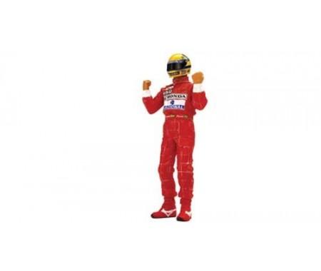 TSM Ayrton Senna Figurine Type II Arms Raised