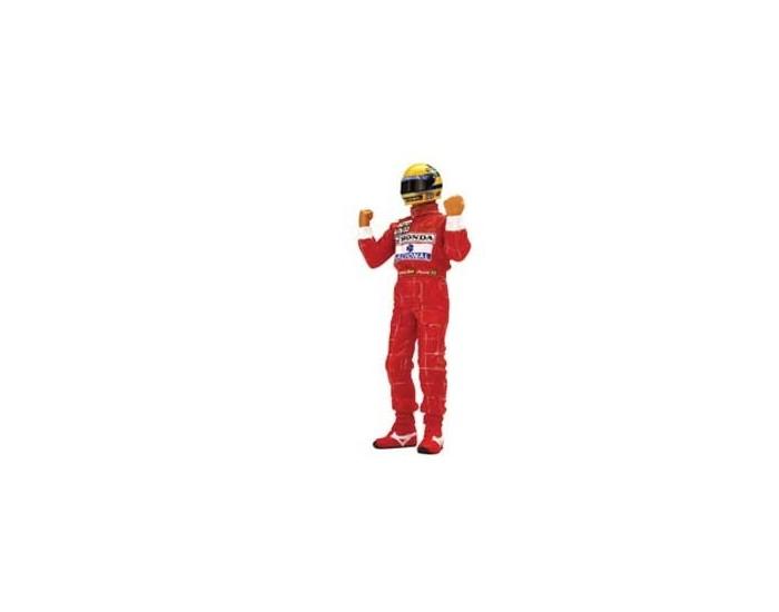 Ayrton Senna Figurine Type II Arms Raised