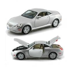 BBurago Lexus SC430 Silver