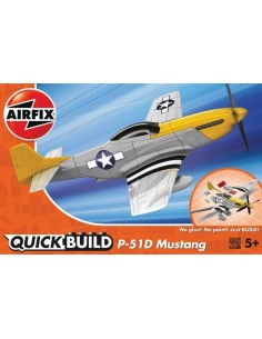 QUICK BUILD Mustang P-51D