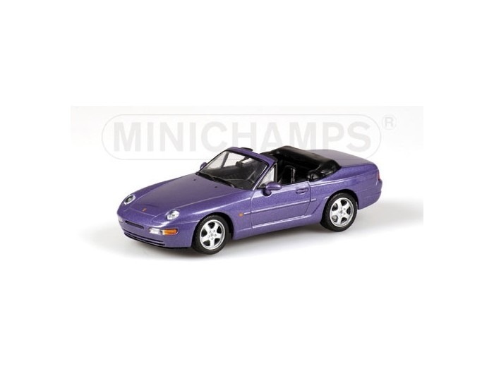 PORSCHE 968 CABRIOLET - 1994 - PURPLE METALLIC