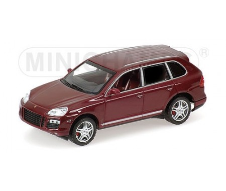 PORSCHE CAYENNE TURBO - 2007 - RED METALLIC