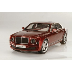Bentley Mulsanne Speed Rubinho Red 2014