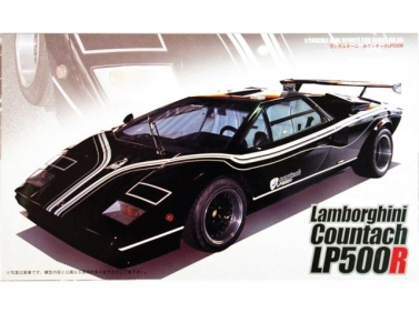 Lamborghini Countach LP500R Black